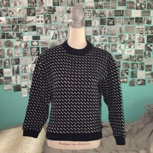 L.L.Bean wool sweater